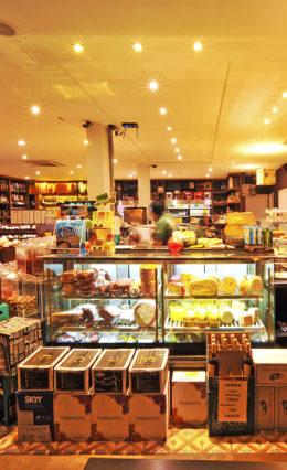 Petiscos com presunto Parma – Passo a Passo – Produtos do Empório Muf's.