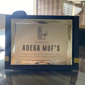Diageo reconhece Adega Muf's como parceiro