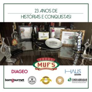 Premiação destaque distribuição de bebidas do SENAP
