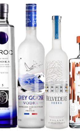 As 5 melhores Vodkas para 2021