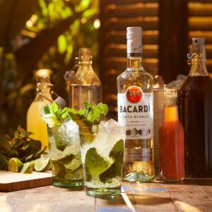 Bebida que embarca em 2021 Rum!